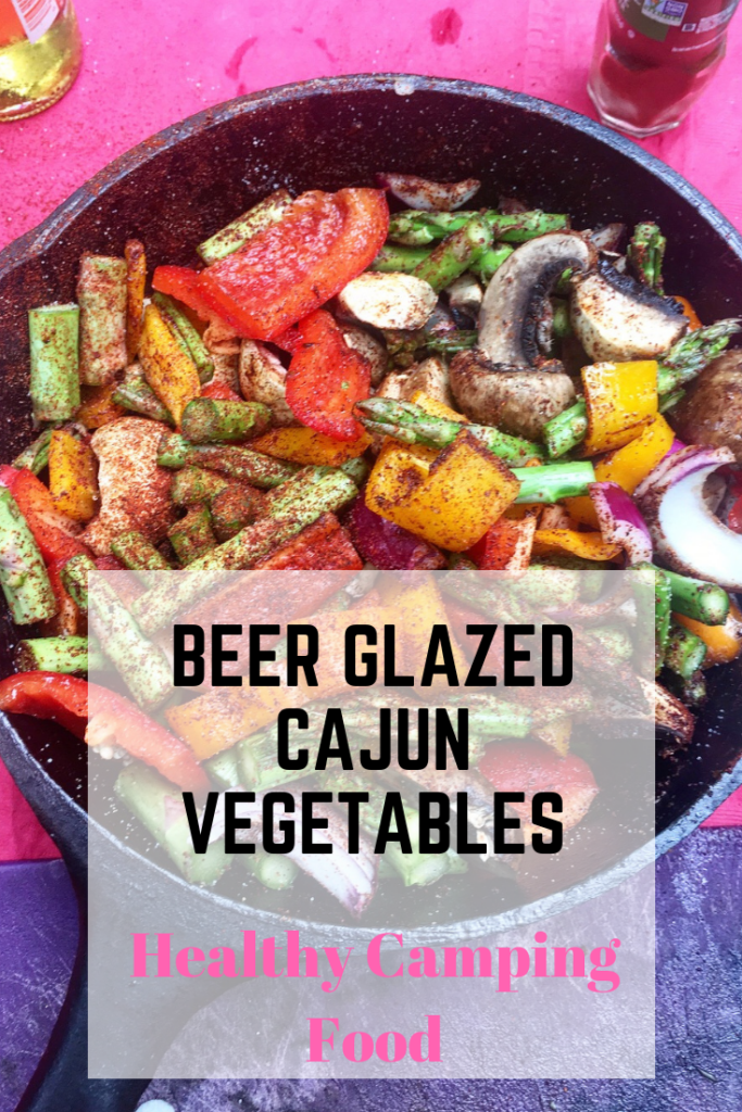 Cajun Vegetables in Beer glaze