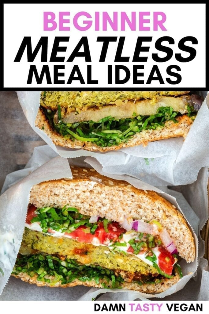Meatless Meal Idea Pin
