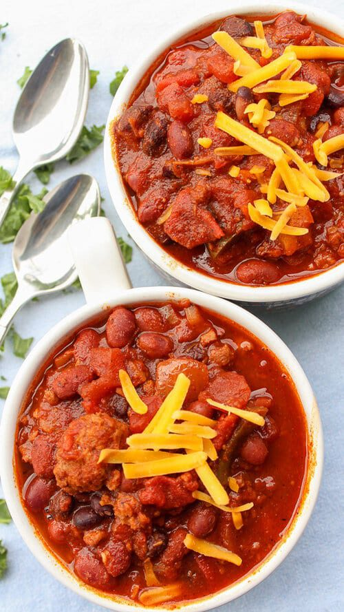 Instant pot meatless chili