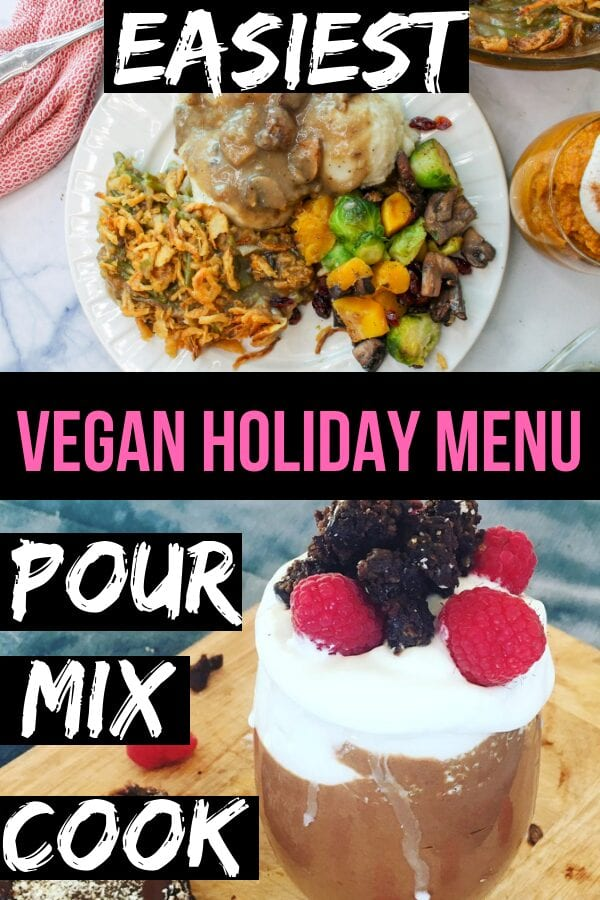 Easy beginner vegan holiday recipes
